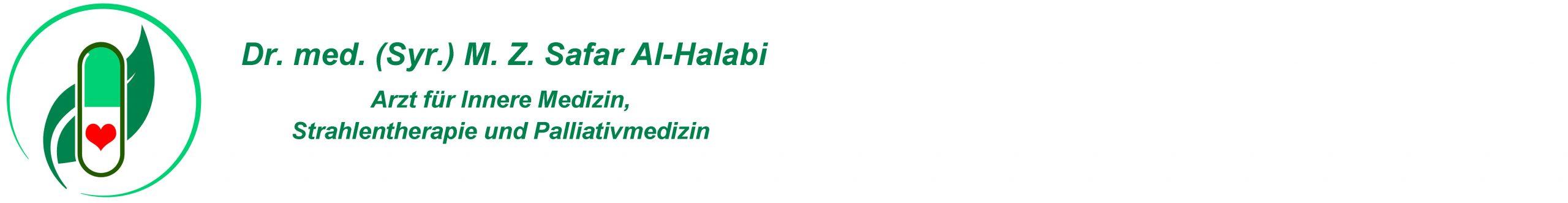 Dr. med. (Syr.) M. Z. Safar Al-Halabi